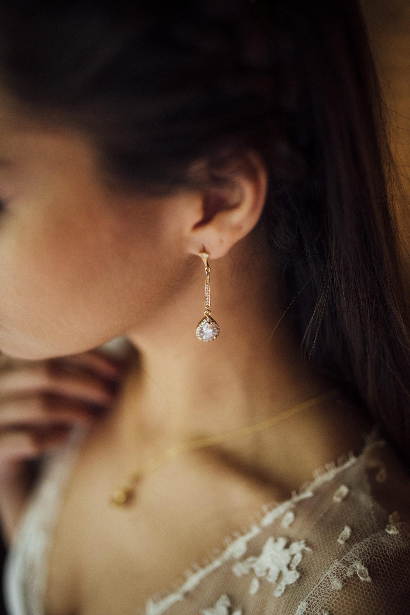 Boucles d'oreilles Edmée