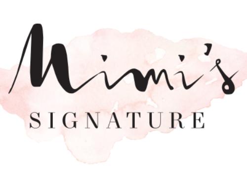 Mimi's Signature